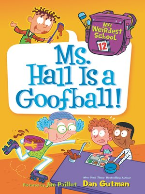cover image of Ms. Hall Is a Goofball!